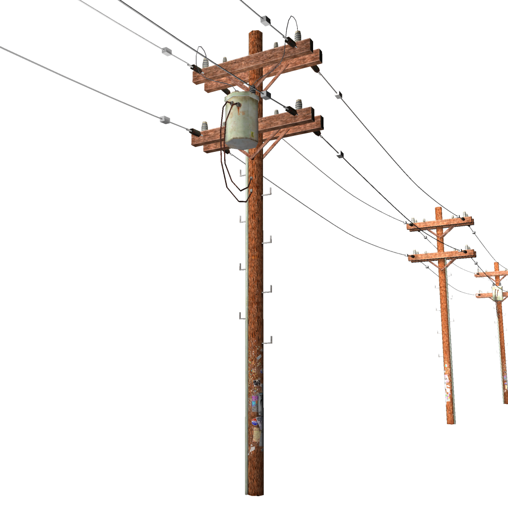 Pole Overhead Line Structures : Power lines stations requests ideas for mods