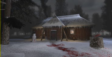 Snowy Cabin of DEATH